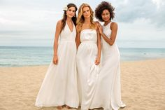 Walk down the isle - Tommy Bahama Wedding Collection Us Beaches, Bridesmaid Dresses, Wedding Dresses, Tommy Bahama, Big Day, New Dress, Hawaii, Marriage, Swimming