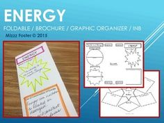 The Energy Brochure is a quick overview of energy for secondary science classes. The definition of energy, potential, kinetic and the six types of energy are covered. Students also need to fill in the Law for conservation of energy. This foldable is only one sheet of paper front and back photocopied.