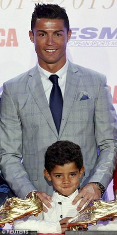 Ronaldo spent Christmas without Cristiano Jr, five, 'to arrange to have another child', it...