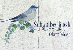 Der Schwalbe Kiosk ist das Fachgeschäft für Handmade und Kunsthandwerk. Über 30 Kreative stellen im Kiosk ihre Kreationen aus. Kiosk, Bird, Animals, Swallows, Craft Items, Animales, Animaux, Birds, Animal Memes