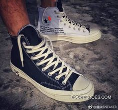 504318684c4dc OFF-WHITE X CONVERSE Chuck Taylor 70 S CONVERSE OFF Collaboration Size High  Quality Double