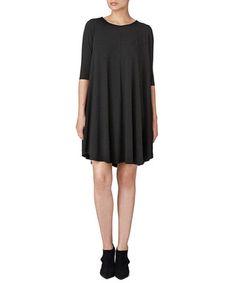 Roma dark grey pleated dress Sale - Y.A.S Sale