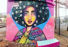 MIMBY JONES ROBINSON in Adelaide, Australia, 2017 Sam King, Australia 2017, Amazing Street Art, Urban Art, Room, Painting, Pintura, Art, City Art