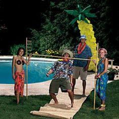 Hawaiian Luau Party Ideas | Luau Birthday Party Ideas - Luau Games - Planning a Luau