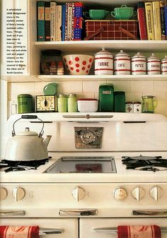Grandma-in-law had one like this....the best stove ever!