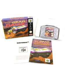Top Gear Rally for Nintendo 64, N64, 1997, CIB, VGC, Retro