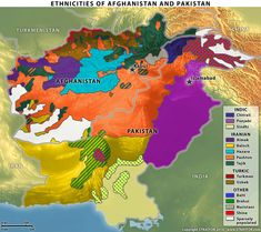 Afghanistan and Pakistan comprise a complex geodemographic configuration. Turkic Languages, Semitic Languages, India World Map, Human Geography, Project Presentation, Indian Language, Country Maps, Ottoman Empire, Historical Maps