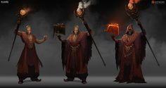 "ArtStation - Concept Art / ""Legendary: Game of Heroes"", Nuare Studio"