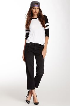 J Brand Ace Cropped Boyfriend Pant by J Brand on @nordstrom_rack