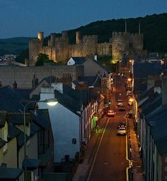 Conwy Castle, Wales~
