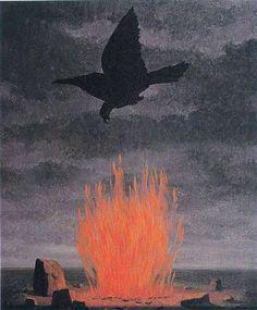 The fanatics - Rene Magritte 1955