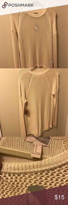 I just added this listing on Poshmark: Forever 21 Sweater. #shopmycloset #poshmark #fashion #shopping #style #forsale #Forever 21 #Sweaters