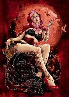 No Brasil o Chapeuzinho Vermelho é que come o Lobo Mau