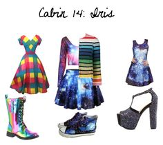 """""""Cabin 14: Iris"""" by hetalianswaifishie on Polyvore featuring HVBAO, Sonia Rykiel, WithChic, Jessica Simpson and Volatile"""