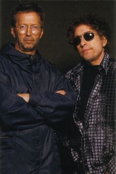 Eric Clapton and Bob Dylan