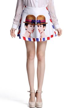 Ohmy..this is too cute! #ROMWE #skirt