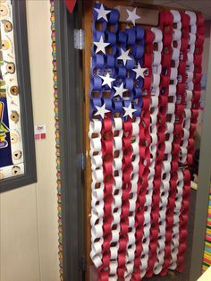 Let the games begin, Century Elementary style. Fun way to decorate your…