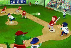 Praatplaat honkbal