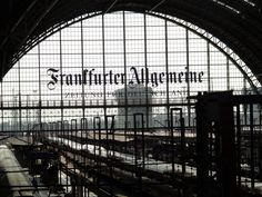 Frankfurt Train Station< Traveled from here all over Europe in the early 70's