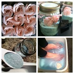 Girl's night spa party! Easy DIY spa party. Most of the essentials are from the dollar store yet you'd never know!