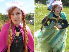 Déguisement Anna de la reine des neiges