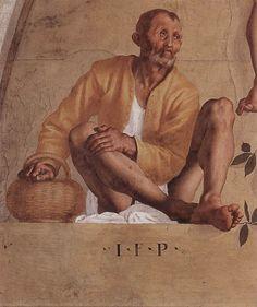 Jacopo Pontormo - Vertumnus and Pomona (detail) - WGA18090.jpg