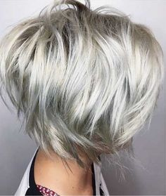 30 Latest Layered Haircut Pics for Alluring Styles Short Layered Haircuts – 12 Short Hair With Layers, Short Hair Cuts, Short Hair Styles, Modern Short Hair, Bob Styles, Short Layered Haircuts, Choppy Bob Hairstyles, Thin Hairstyles, Popular Hairstyles
