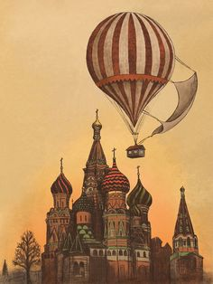 Moving to Moscow by Terry Fan.