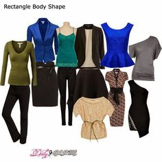 """Dressing your body type - 10 tip for the """"Rectangle"""""""
