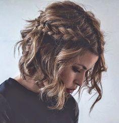 Oui, il est possible de réaliser une tresse sur cheveux courts... La preuve en 17 photos ! - Coupe de cheveux