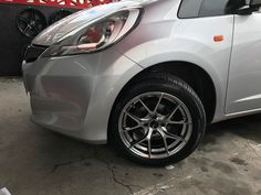 """15"""" fitted on Honda Fit"""
