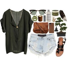 """Charcoal and Tussocks"" by vv0lf on Polyvore"