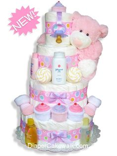 Bing : girl baby shower ideas Balch this is cute! Baby Shower Diapers, Baby Shower Fun, Baby Shower Gender Reveal, Girl Shower, Baby Shower Cakes, Baby Shower Parties, Baby Shower Themes, Baby Shower Gifts, Baby Gifts