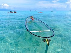 Explore the Oceans With This Transparent Kayak | MR.GOODLIFE. - The Online Magazine for the Goodlife.