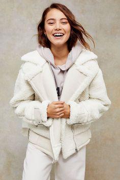 Carousel Image 0 White Winter Coat, Jacket Images, Double Denim, Best Black Friday, Oversized Coat, Pretty Lingerie, My Black, Women's Summer Fashion, Jackets