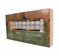 Oil Paint 28112: Gamblin Artist Oil Colors Introductory Set -> BUY IT NOW ONLY: $95.99 on eBay!