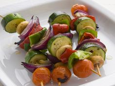 Summer staple: veggie kabobs