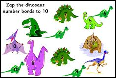 Dinosaur number bonds to 10