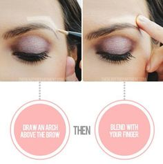 Levantamiento de los ojos instantneo Esta ilusin fcil y rpido le dar una vida ojo instantneo. Dibuja un arco encima de la ceja con su highlighter o corrector favorito, y se mezclan con el dedo. Esto hace que su arco aparente levantado, haciendo que todo el ojo parezca que ha sido levantado. Visit my site Real Techniques brushes makeup -$10 http://youtu.be/6T4khkxlZgo #realtechniques #realtechniquesbrushes #makeup #makeupbrushes #makeupartist #brushcleaning #brushescleaning #brushes