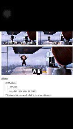 Edna Mode Life Coach