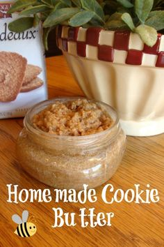 Homemade Cookie Butter - like Trader Joe's!