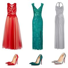 """""""Prom 2016 #19"""" by luvtae ❤ liked on Polyvore featuring Gina Bacconi, Ariella, Anoushka G and Christian Louboutin"""