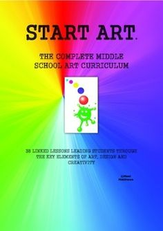 This huge resource (154 pages) offers 38 linked lesson plans, leading students through the key elements of Art, Design and Creativity. Each lesson plan provides differentiation, lesson outline, lesson structure, materials required, and homework. Each lesson also provides a photocopiable information sheet for students, written in a student friendly style.