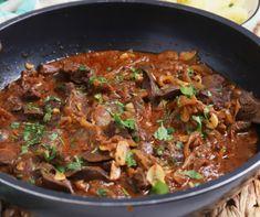 recept, ha szereted a csirkemájat Bacon, Beef, Food, Meat, Eten, Ox, Ground Beef, Meals, Steak