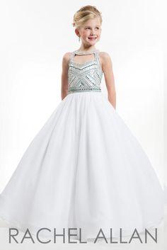 3da2590955d Rachel Allan Perfect Angel Little Girl Pageant Dresses