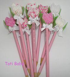 Lembrancinha para chá de bebê!!! by Tati Baby, via Flickr ou chá das mulheres( na primavera!)