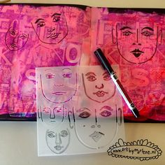 Hi there to all you creatives! This is Marlene fromART BY MARLENE and today I am sharing a step-by-step tutorial on creating your own quirky TCW stencil girls in an art journal. I started…