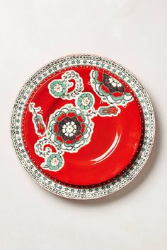 Elka Dinner Plate - anthropologie.com