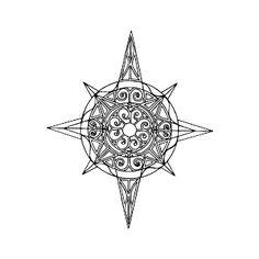 Compass Star Tattoo 4jpg