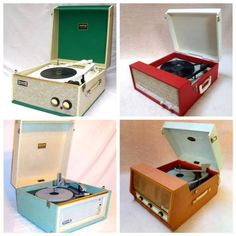 Did you have a Dansette? Retro Record Player, Record Players, 1970s Childhood, Childhood Memories, Dansette Record Player, Phonograph, Oldies But Goodies, Vintage Records, Ol Days